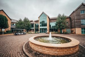 De Vere Cotswold Water Park Hotel Entrance