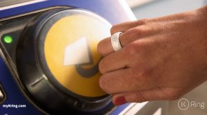 K Ring London Underground Contactless Payment