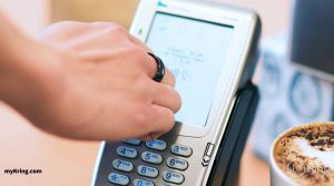 K Ring Contactless Payment Terminal Gesture